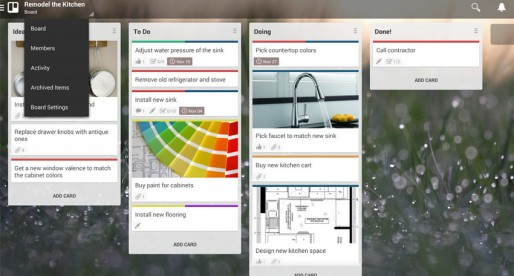 Trello: A terrific free tool to work on common projects