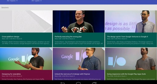 Google I/O 2014: Always be on top of things