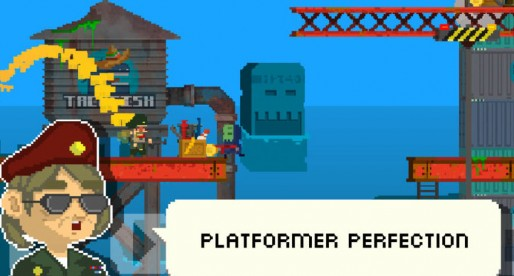 Buzz Killem: Action-packed mix of Retro Platformer and Shooter