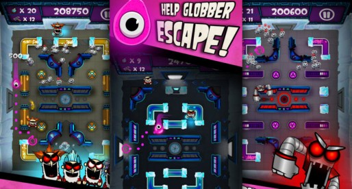 Globber's Escape: Greetings from Pac-Man