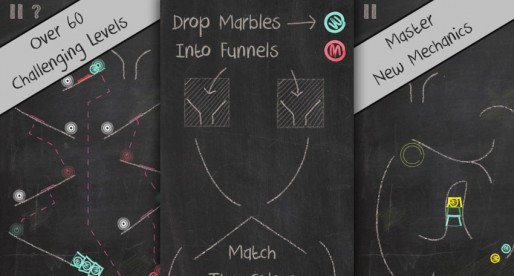 Marble Drop: Charming new Physics Puzzler