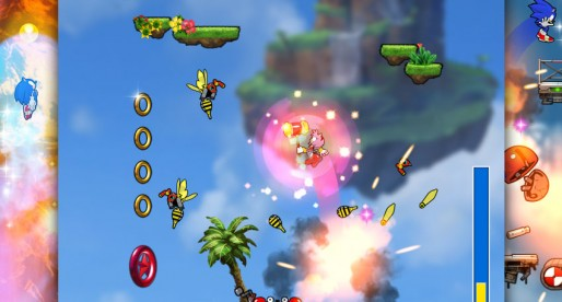 Sonic Jump Fever: Help the blue hedgehog to perform mighty jumps