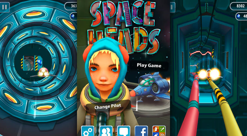 Space Heads!: Challenging Endless Runner with anime characters
