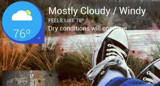 The Weather Channel impresses with accurate weather forecasts