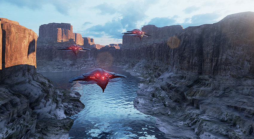 Angels in the Sky: A mighty adventure powered by the new Unreal Engine 4