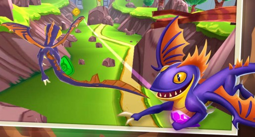 Dragon Rainers: Dragon action with reminders of Temple Run