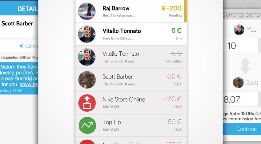 Payfriendz: Requesting and sending money made easy