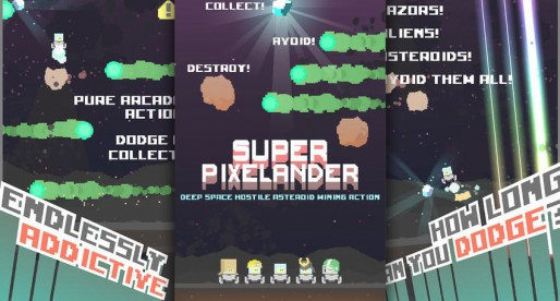 Super Pixelander: Funny Arcade Highscore Game in retro style