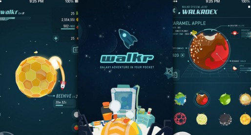 Walkr – Galaxy Adventure in Your Pocket: Discover planets and create your own energy