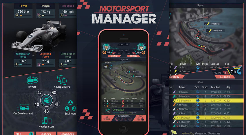 Appzapp Motorsport Manager